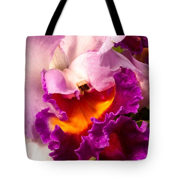 Cattleya III Tote Bag by Christopher Holmes