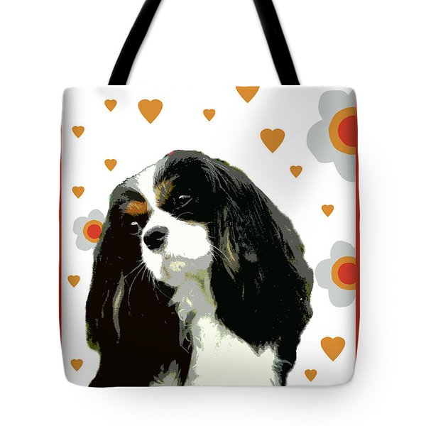 Cavalier King Charles Spaniel Tote Bag by One Rude Dawg Orcutt