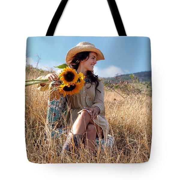 Celeste 1 Tote Bag by Dawn Eshelman