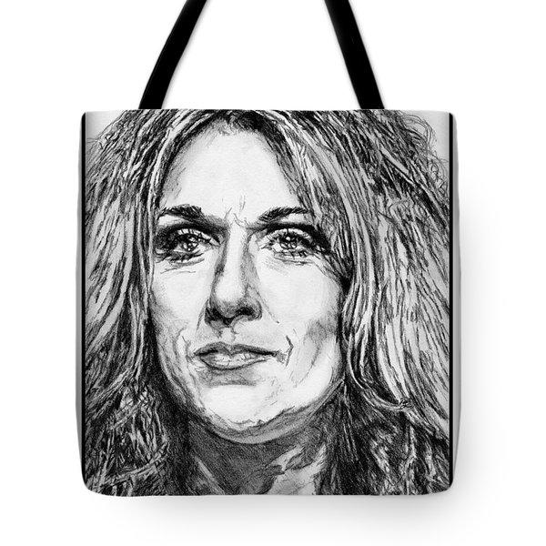 Celine Dion In 2008 Tote Bag by J McCombie
