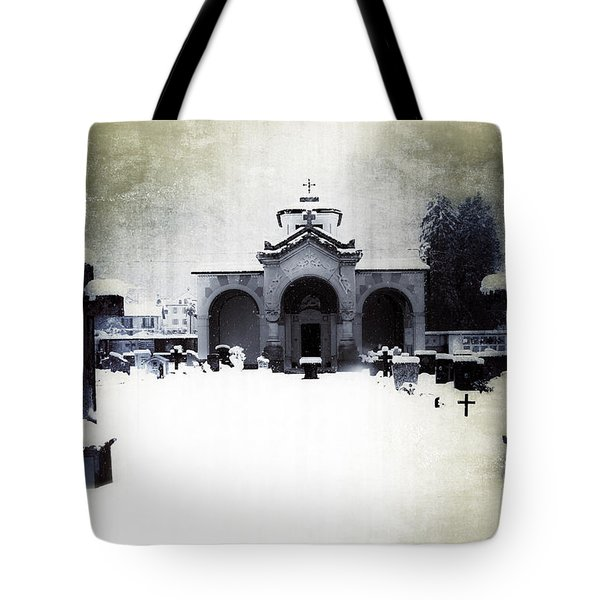 cemetery Tote Bag by Joana Kruse