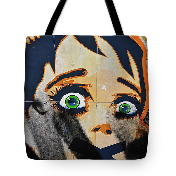 Censorship Tote Bag by Harry Spitz