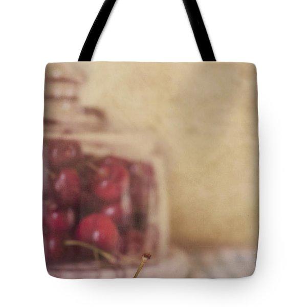 Cerise Tote Bag by Priska Wettstein