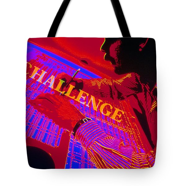 Challenge Tote Bag by Jerry McElroy