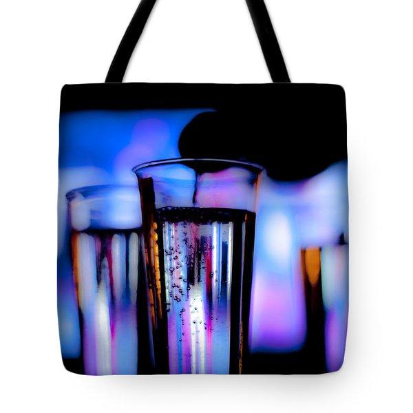 Champagne Tote Bag by Hakon Soreide
