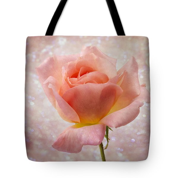 Champagne Rose. Tote Bag by Clare Bambers