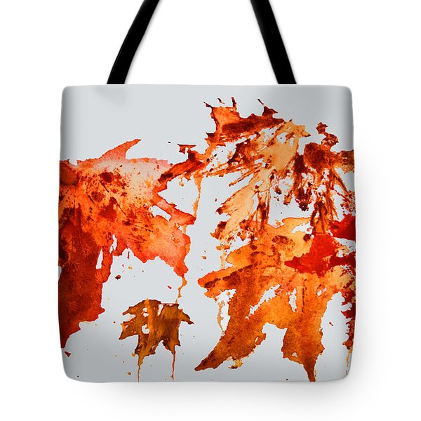 Changing Season Tote Bag by Barbara McMahon