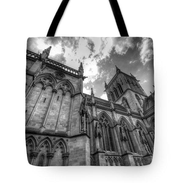Chapel Of St. John's College - Cambridge Tote Bag by Yhun Suarez