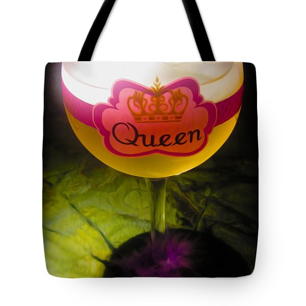 Chardonnay Queen Tote Bag by Cheryl Young