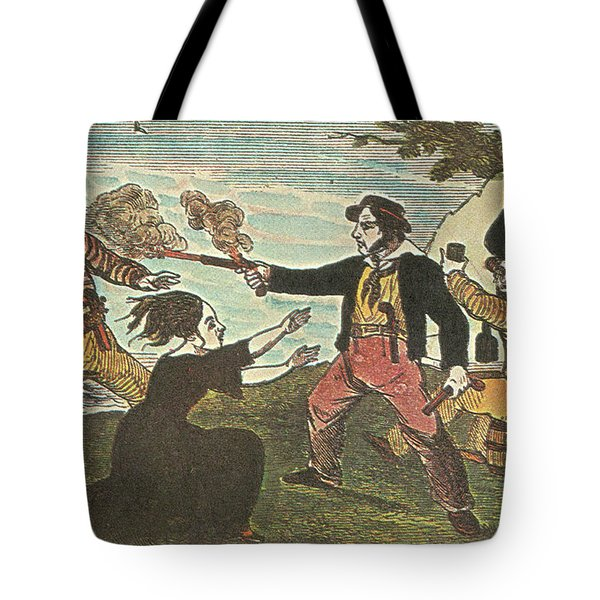 Charles Gibbs, American Pirate Tote Bag by Photo Researchers
