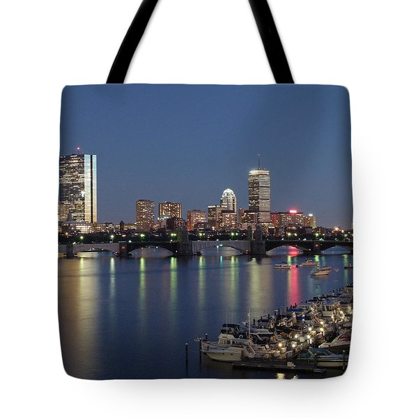 Charles River Yacht Club Tote Bag by Juergen Roth