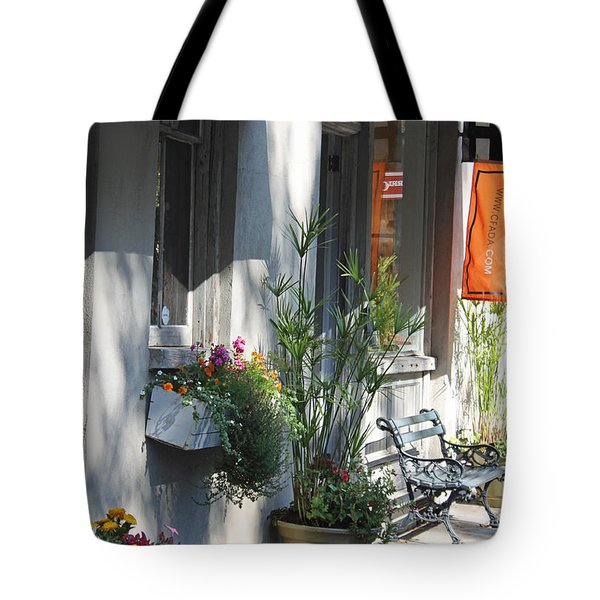 Charleston Shop - French Quarter Tote Bag by Suzanne Gaff