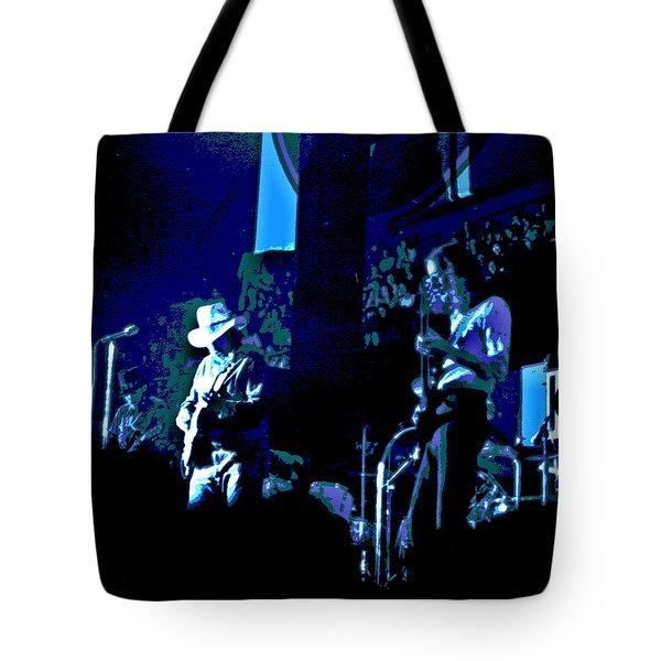 Charlie Daniels Winterland Blues 1975 Tote Bag by Ben Upham