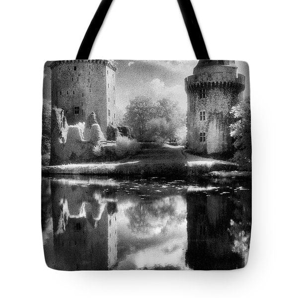 Chateau De Largoet Tote Bag by Simon Marsden