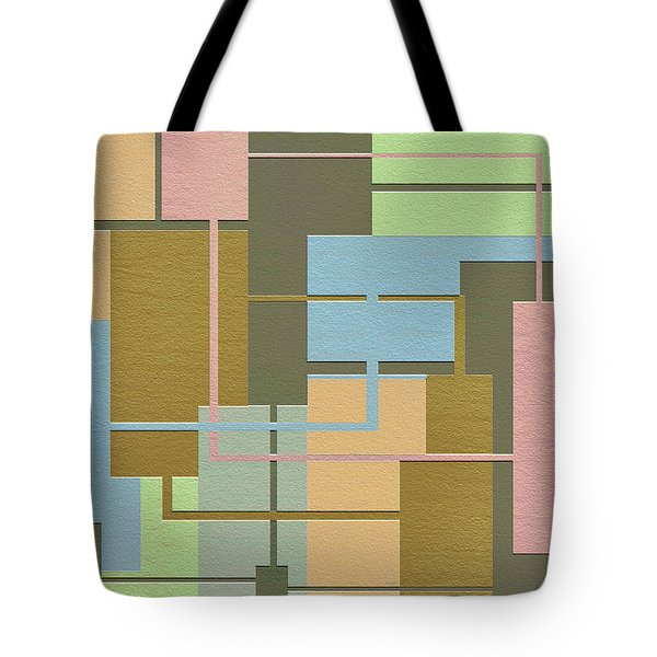 Check Tote Bag by Ely Arsha