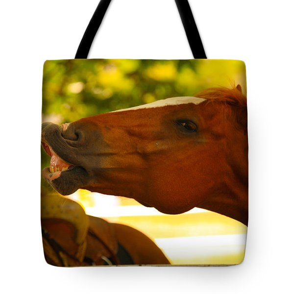Cheese Tote Bag by Cheryl Young