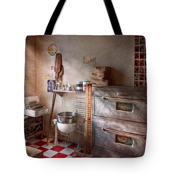 Chef - Baker - The Bread Oven Tote Bag by Mike Savad