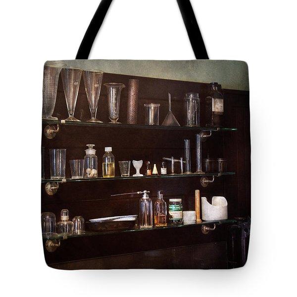 Chemist - The Scientist  Tote Bag by Mike Savad