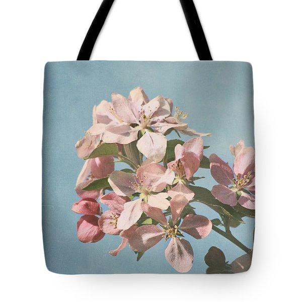Cherry Blossoms Tote Bag by Kim Hojnacki