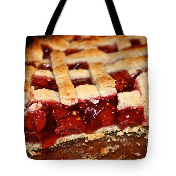 Cherry  Tote Bag by Susan Herber