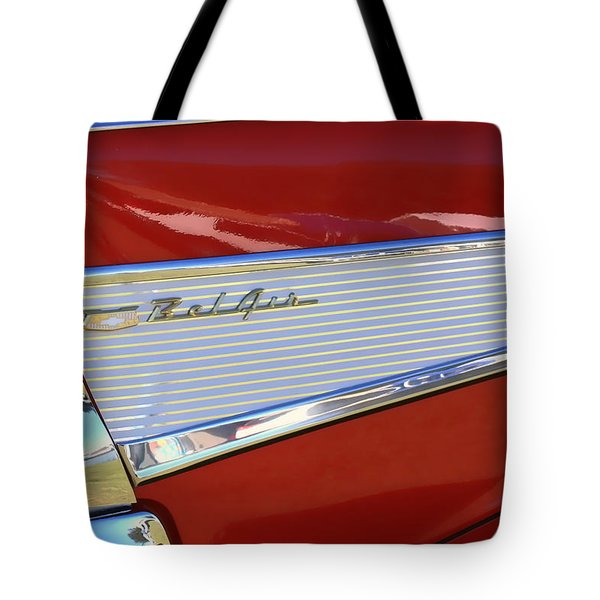 Chevy Lines Tote Bag by Dorothy Menera