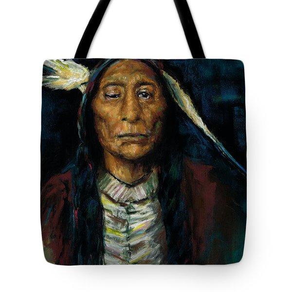 Chief Niwot Tote Bag by Frances Marino