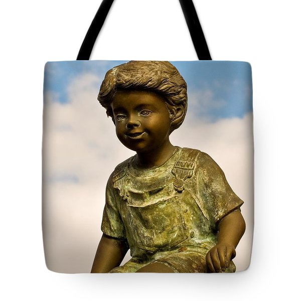 Child In The Clouds Tote Bag by Al Powell Photography USA