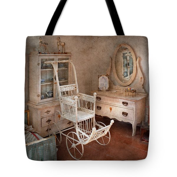 Children - Toy - Things You Find In A Girls Room Tote Bag by Mike Savad