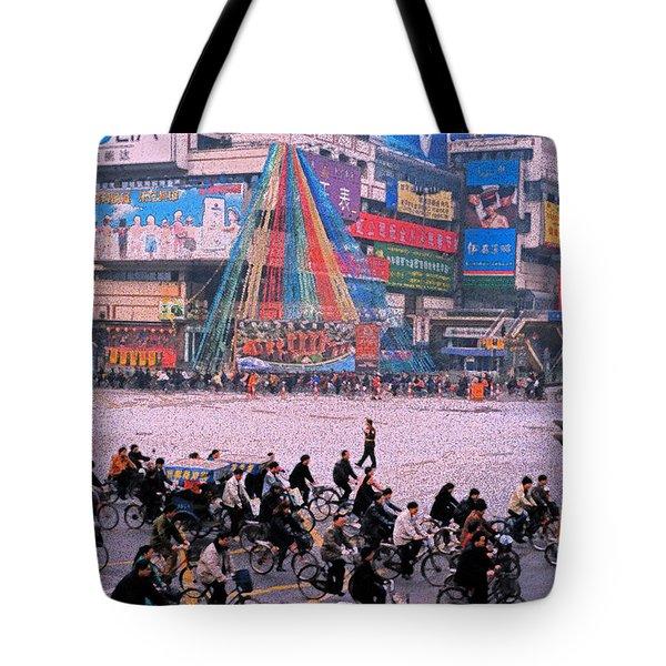 China Chengdu Morning Tote Bag by First Star Art