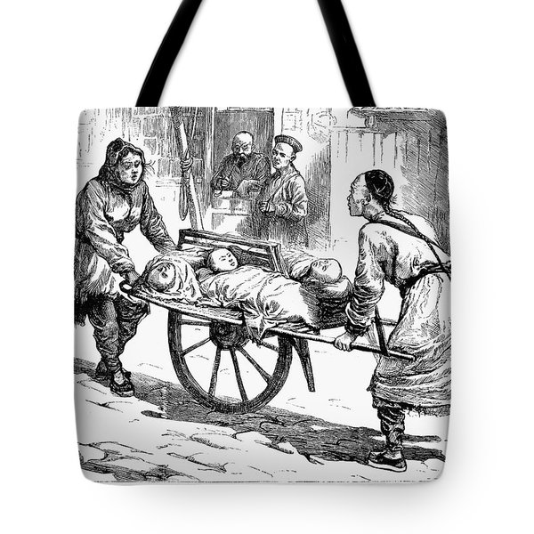 China: Famine, 1877 Tote Bag by Granger