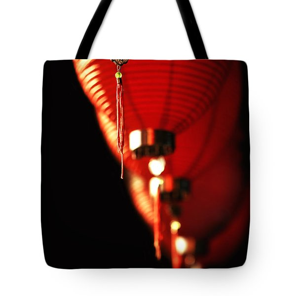 Chinese Whispers Tote Bag by Evelina Kremsdorf