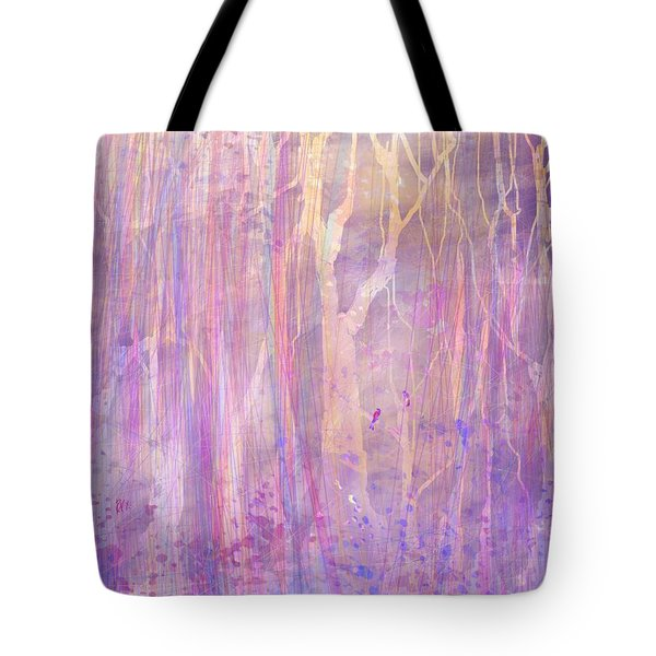Chitchat Tote Bag by Rachel Christine Nowicki