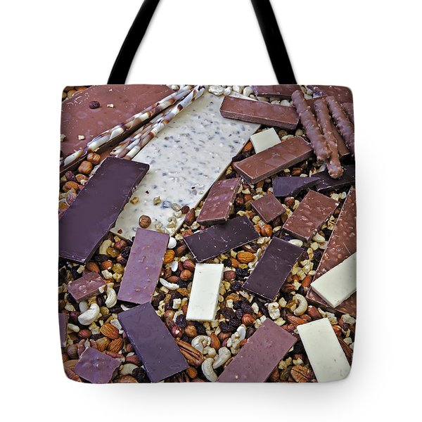 chocolate Tote Bag by Joana Kruse