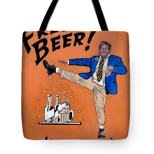 Chris Farley Tote Bag by Tom Roderick
