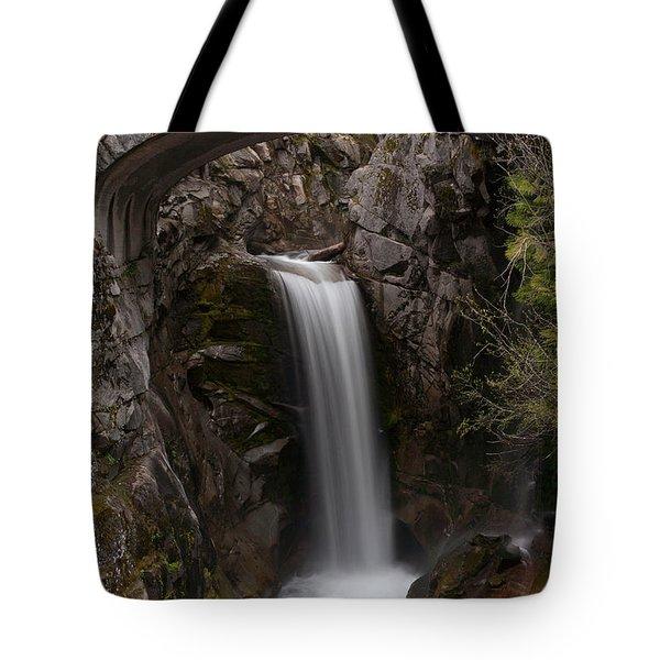Christine Falls Serenity Tote Bag by Mike Reid