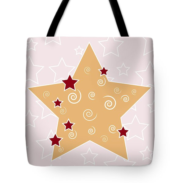 Christmas Star Tote Bag by Frank Tschakert