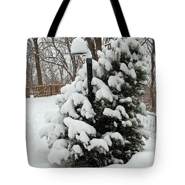 Christmas Tree Tote Bag by Aimee L Maher Photography and Art Visit ALMGallerydotcom