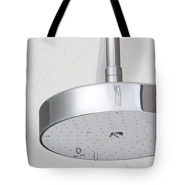 chrome shower head Tote Bag by ATIKETTA SANGASAENG