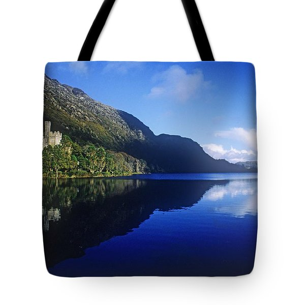 Church At The Waterfront, Kylemore Tote Bag by The Irish Image Collection