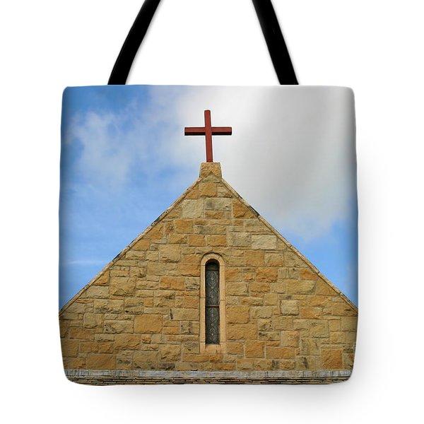 Church Top Tote Bag by Henrik Lehnerer