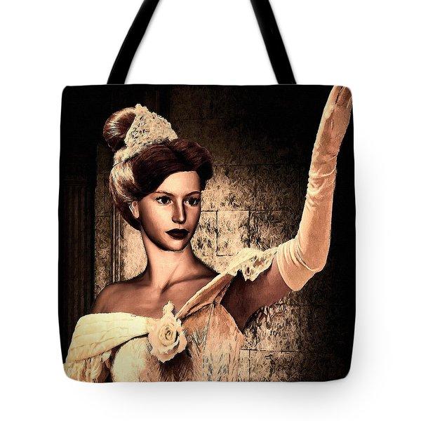Cinderella Tote Bag by Lourry Legarde