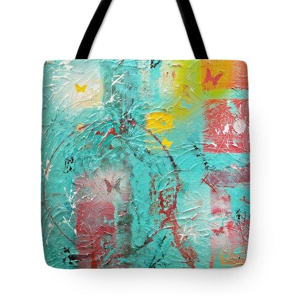 Circle Of Life Tote Bag by Wayne Potrafka