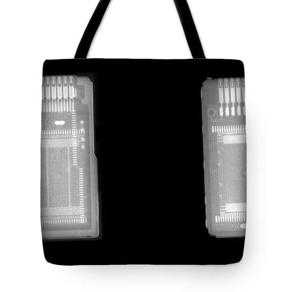 Circuit Boards Tote Bag by Ted Kinsman
