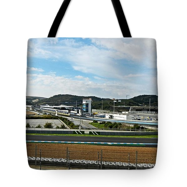 Circuito De Jerez 2011 Tote Bag by Juergen Weiss