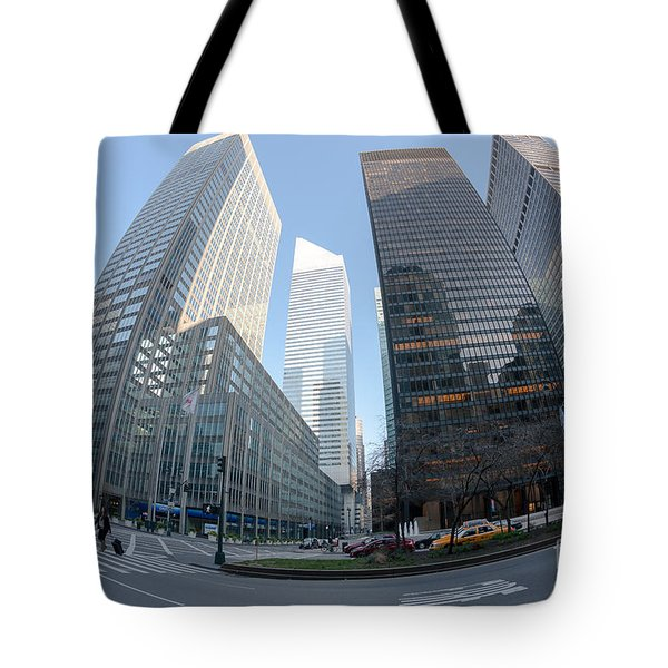 Citigroup Center From Park Avenue I Tote Bag by Clarence Holmes