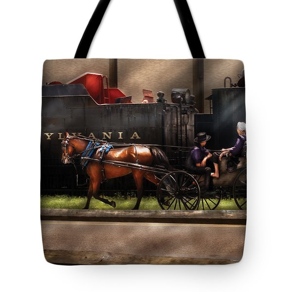 City - Lancaster PA - You got to love Lancaster Tote Bag by Mike Savad