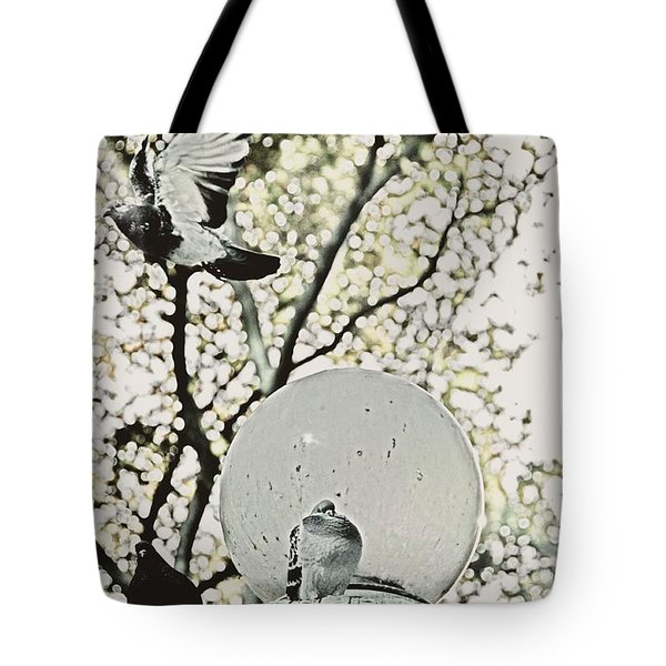 City Doves Tote Bag by JAMART Photography