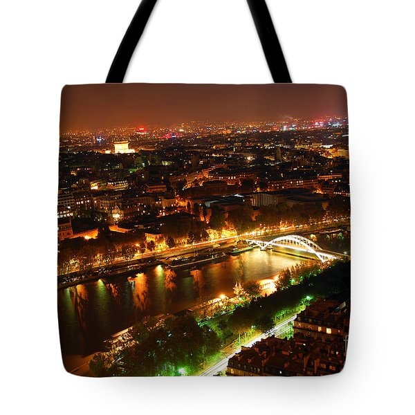 City Of Light Tote Bag by Elena Elisseeva