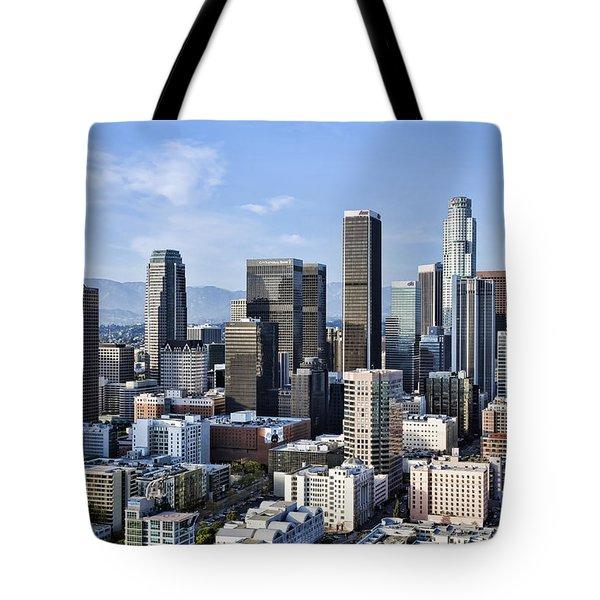 City of Los Angeles Tote Bag by Kelley King