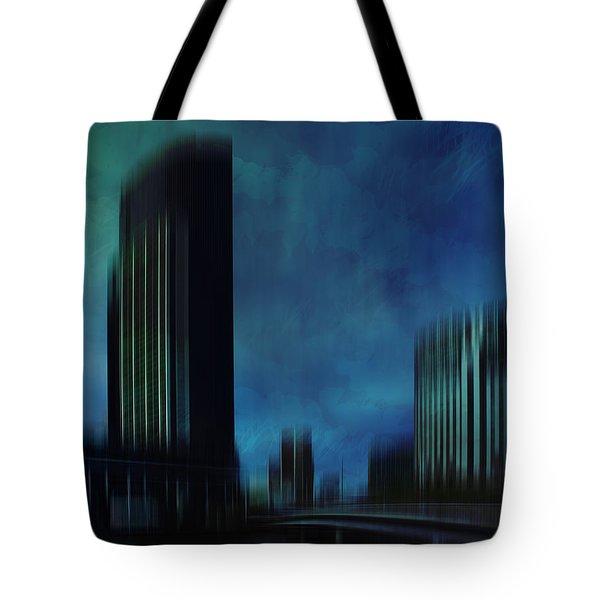 City Shapes Melbourne I Tote Bag by Melanie Viola